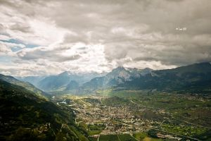Swiss Alps by Lain-AwakeAtNight