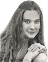 Lynne Frederick Portrait by truthandlight78