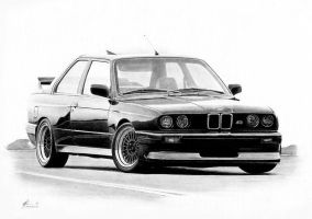 BMW M3 E30 by Boss429