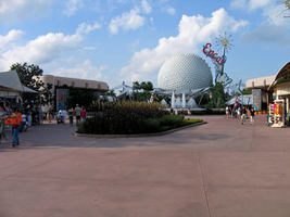 Epcot Spaceship Earth Stock 24 by AreteStock