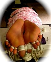 Tickle Time for Helpless Rachele by Randallpink666