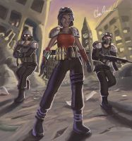 Post Apocalyptic by Black-Cloak