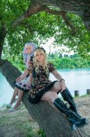 Lolita free time by Elsa-Cosplay