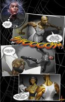 The Retelling of Amazing Spider-Man #300 Page 4 by LittleShaolin