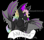 Anathema Badge :GIFT ART: by Ruby-Orca-616