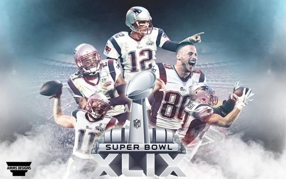 Patriots Superbowl XLIX Wallpaper by AMMSDesings