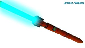 StarWars Lightsabre. by maxmayhem