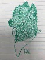 Realistic Monki doodle by RuffiMutt