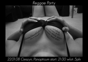reggae party poster by qbsster