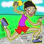 GOEN FOR A JOG by Luminosion