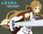 Asuna Colored by blackmist012