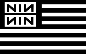 Nine Inch Nails Flag by IsolatedInsomniac