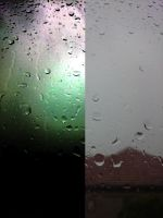 Rainy day again: Photoshopped vs. Original by RumpleTR
