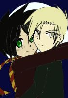 Albus and Scorpius by changeling17