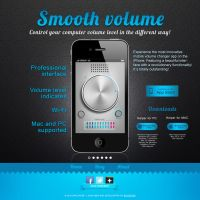 Smooth volume app by briztaker