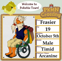 Pokemon Crossing App: Frasier by youkaiyami
