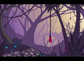 Glowplum Forest by lieusum