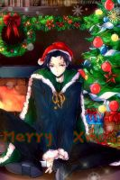 Happy Holidays from Loki by Kuri-Nii