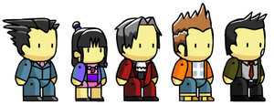Assorted Scribblenaut Chars 2 by McGenio