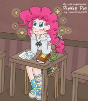 My Little HighSchooler - Pinkie by CaramelCookie