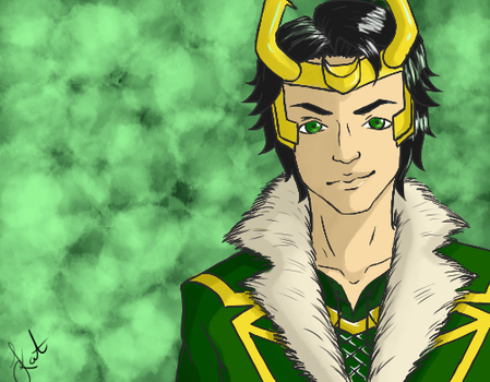 Loki by Akra-Cat