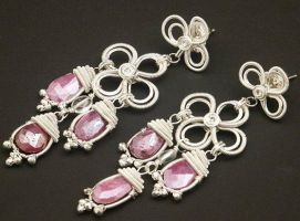 Bridesmaid Earrings by WiredElements