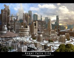 Downtown Angel Falls by Teri-Minx