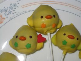 Chick CakePops close up by rltan888