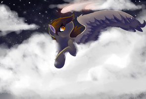 When You Can Sleep On Clouds by TechnoWolf9000