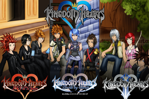 Kingdom Hearts - Reconnect by Arlequinne
