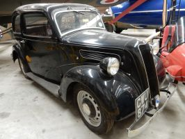 1938 Ford 7Y Deluxe Sedan by rlkitterman