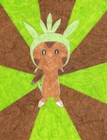 Chespin by daisyplayer1