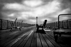 The Forgotten Pier by waggysue