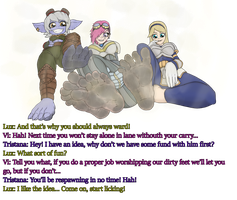 Tristana Vi Lux dirty feet worship, get ganked by pablopyro