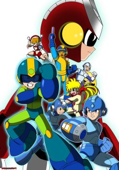 Megaman Xover by Gauntlet101010