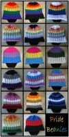 Pride Beanies by RebelATS