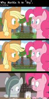 Why Marble is so ''shy'' by FluttzKrieg