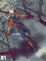 Gray Fox Metal Gear Solid by ice-anbu by ice-anBu