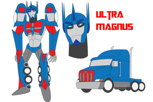 Transformers Neo - ULTRA MAGNUS by Daizua123