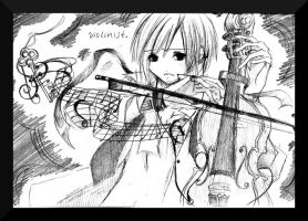 .: Violinist :. by The-Crowned