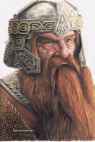 Gimli, Son of Gloin by brandiyorkart
