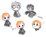 Harry Potter Puppets by Doodlz18
