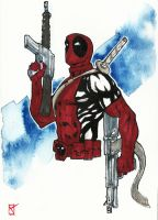 Deadpool sketch by syr1979
