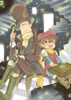 PROFESSOR PUZZLE LAYTON by PAPAWS