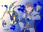 Yuri and Repede by Ezaria