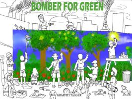BOMBER FOR GREEN by niqwoz