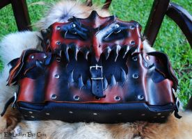 Medium Dragon Satchel 2.0 by Epic-Leather