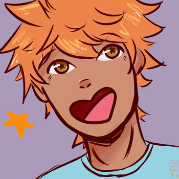 Hinata Shouyou by tigercities