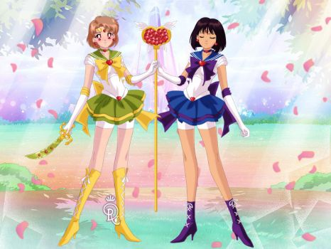 Sailor Scouts of Determination by vbheart13