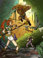 Teela Ambushed.. by JazylH